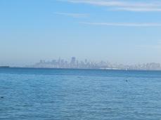 Sausalito -Vista de San Francisco