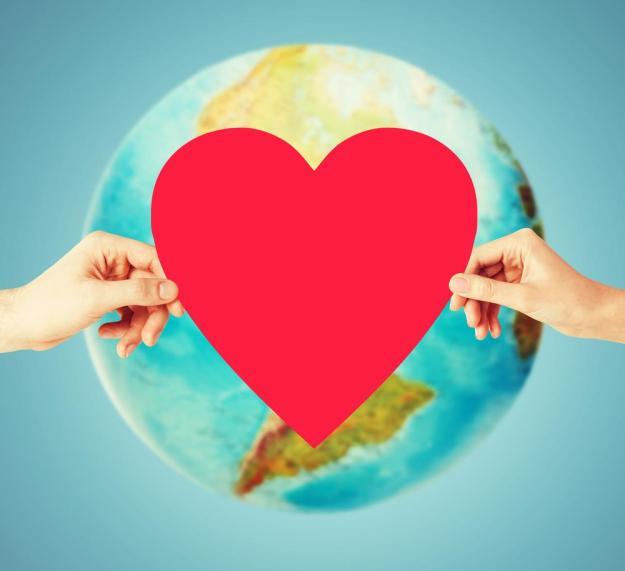 mundo coração