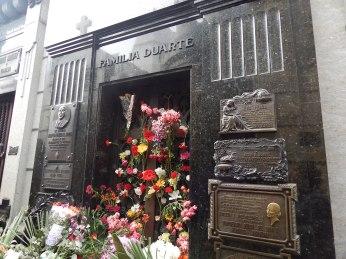 Cemiterio de la Recoleta - Túmulo de Eva Perón